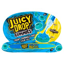 Juicy Drop Gummies Chewy Gummies and Sour Gel 57g