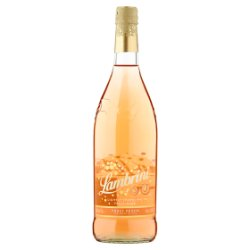 Lambrini Lightly Sparkling Fruit Wine Truly Peach 75cl