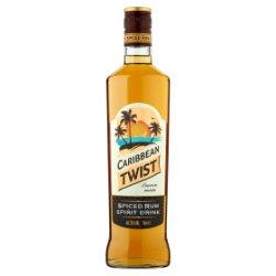 Caribbean Twist Spiced Rum Spirit Drink 70cl
