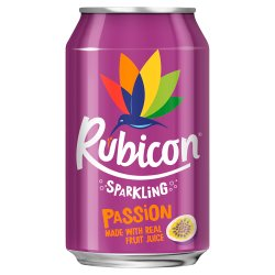 Rubicon Sparkling Passion 330ml