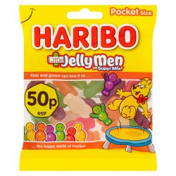 HARIBO Little Jelly Men Bag 70g 50p PM