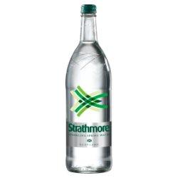 Strathmore Sparkling Spring Water 1L Glass Bottle
