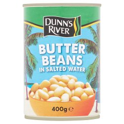 Dunn's River Butter Beans in Salted Water 400g