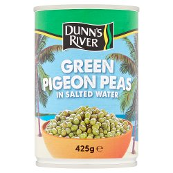 Dunn's River Green Pigeon Peas in Salted Water 425g