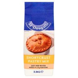 McDougalls Shortcrust Pastry Mix 3.5kg