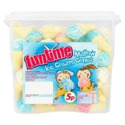 Funtime Mallow Ice Cream Cones 1440g