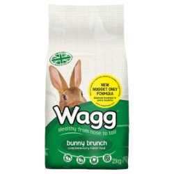 Wagg Bunny Brunch Complementary Rabbit Food 2kg