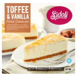 Sidoli Toffee & Vanilla Flavour Cheesecake 1.050kg
