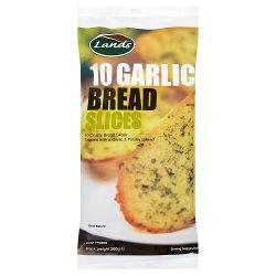 Lands 10 Garlic Bread Slices 260g