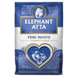 Elephant Atta Fine White Chapatti Flour 25kg
