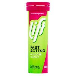 Lift Glucose Chews Raspberry 10's