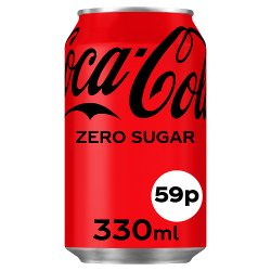 Coca-Cola Zero Sugar 24 x 330ml PMP 59p