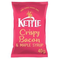 KETTLE® Crispy Bacon & Maple Syrup 40g