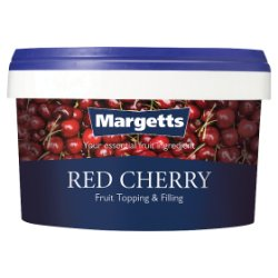 Margetts Red Cherry Fruit Topping & Filling 2.5kg