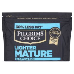 Pilgrims Choice Lighter Mature Cheese 350g