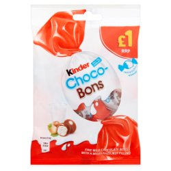 Kinder Milk and Hazelnut Choco Bons 69.6g