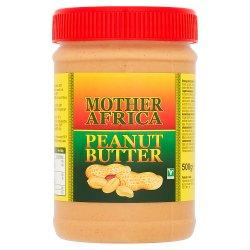 Mother Africa Peanut Butter 500g