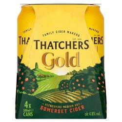 Thatchers Gold Somerset Cider 4 x 500ml