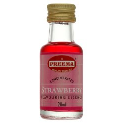 Preema Concentrated Strawberry Flavouring Essence 28ml