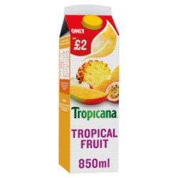 Tropicana Tropical Fruit Juice PMP 850ml