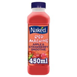 Naked Red Machine Strawberry Smoothie 450ml