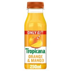 Tropicana Orange & Mango Juice £1 RRP PMP 250ml