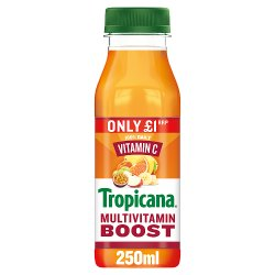 Tropicana Multivitamin Boost Juice £1 RRP PMP 250ml