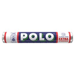 Nestlé® POLO® Sugar Free Extra Strong Mint Sweets 33.4g Paper Wrap
