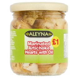Aleyna Marinated Artichoke Hearts with Oil 200g
