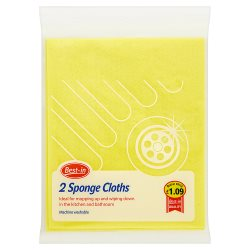Best-in 2 Sponge Cloths