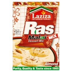 Laziza International Ras Malai Almond Dessert Mix 75g