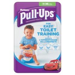 Huggies Pull Ups Day Time Potty Training Pants Boys Size Medium (10-18kg, 22-40lbs) 16 Pants