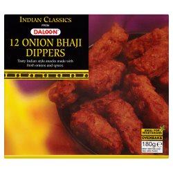 Daloon Indian Classics 12 Onion Bhaji Dippers 180g
