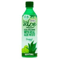 Grace Say Aloe Vera Drink Original Flavour £1.15 PMP 500ml
