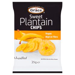 Grace Sweet Plantain Chips 35g