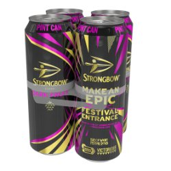Strongbow Dark Fruit Cider Can 4 x 568ml