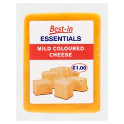 Best-in Essentials Mild Coloured Cheese 150g