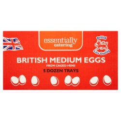 Essentially Catering British Medium Eggs 5 Dozen Trays
