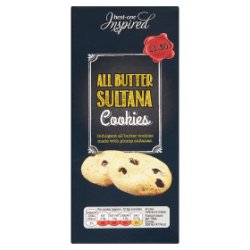 Best-One Inspired All Butter Sultana Cookies 125g
