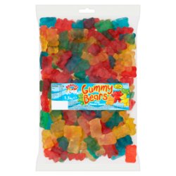 Buddies Gummy Bears Fruit Flavour Sweets 1.5kg