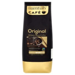 Essentially Café Original Fairtrade Ground Coffee 1kg