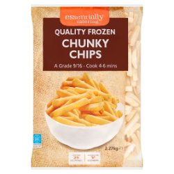 Essentially Catering Chunky Chips 2.27kg