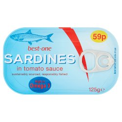Best-One Sardines in Tomato Sauce 125g