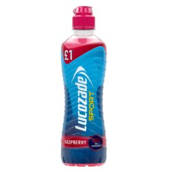 Lucozade Sport Raspberry PM £1