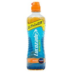 Lucozade Sport Orange 500ml £1.09 or 2 for £2