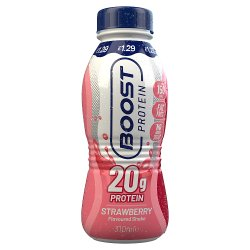 Boost Protein Strawberry Flavoured Shake 310ml