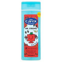 Carex Fun Edition Mr Men & Little Miss Tutti Frutti Body Wash 500ml PMP £1.50