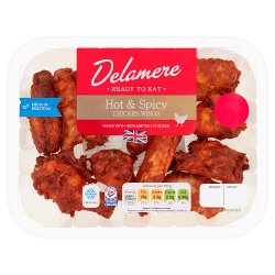 Delamere British Hot & Spicy Roast Chicken Wings