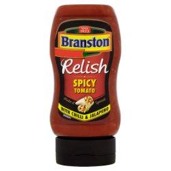 Branston Relish Spicy Tomato with Chilli & Jalapeno 335g