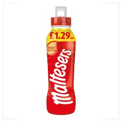Maltesers Chocolate Milk Shake Drink No Added Sugar 350ml